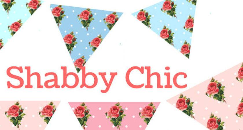 Items Similar Sale Shabby Chic Banner