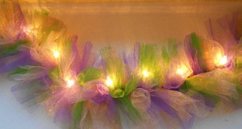 Items Similar Tulle Lights Etsy