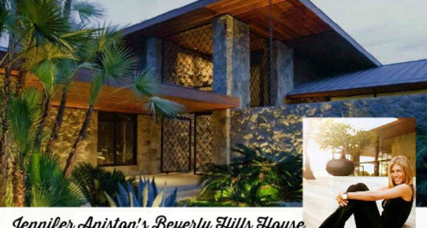 Jennifer Aniston Sleek New House Bel Air Hooked