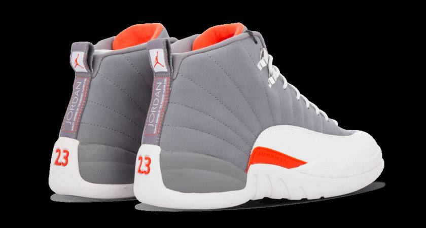Jordan White Gray Orange