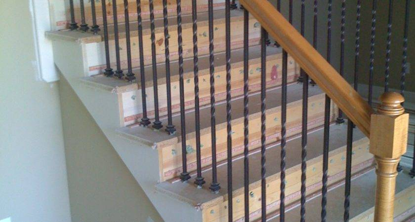 Kcfauxdesign Diy Stain Staircase Hand Rails