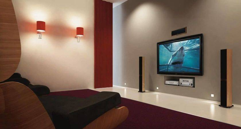 Kicky Wall Mounted Screen Large Comfy Living Room
