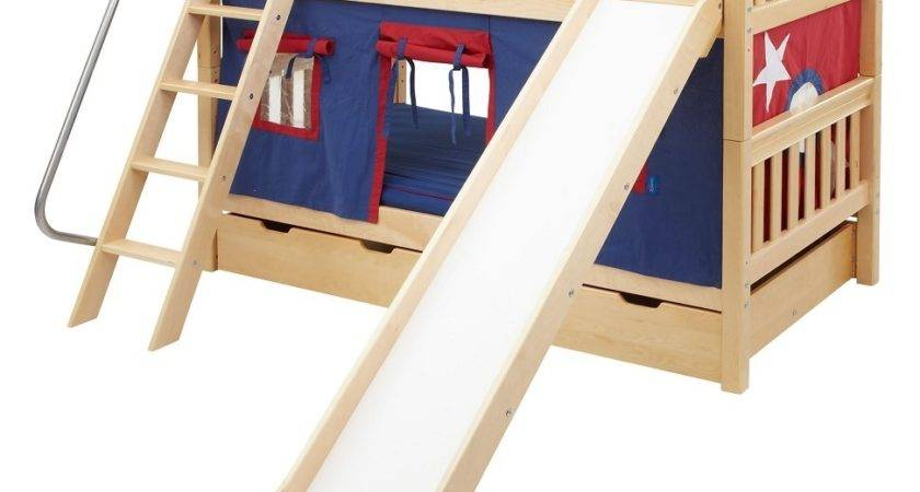 Kids Bunk Bed Slide Beds Stairs