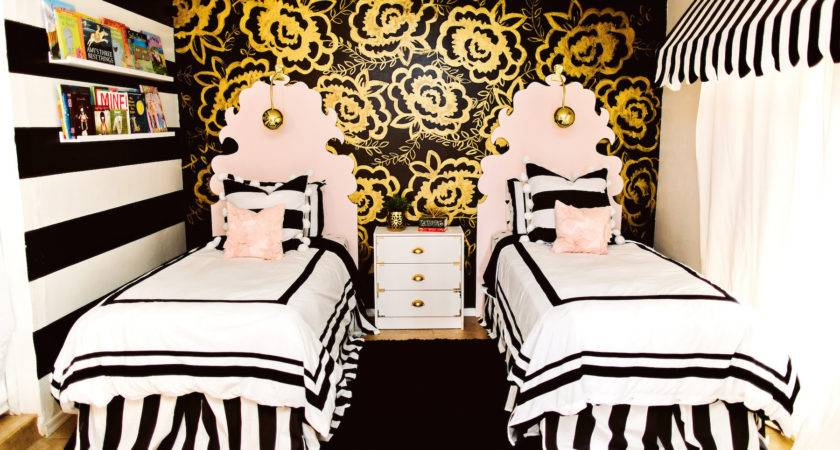 Kitchen Awesome Black White Bed Cream