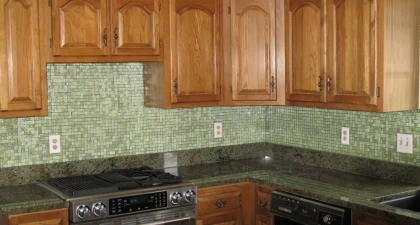 Kitchen Backsplash Glass Tile Design Ideas Come