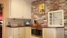 Kitchen Brick Backsplashes Warm Inviting Cooking