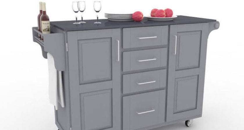 Kitchen Cart Large Black Home Styles Humster