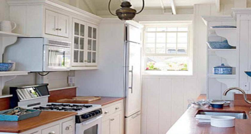 Kitchen Design Ideas Small Galley Kitchens White