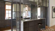 Kitchen Partition Ideas Contemporary Atlanta