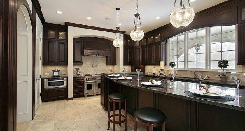 Kitchens Traditional Dark Wood Nearly