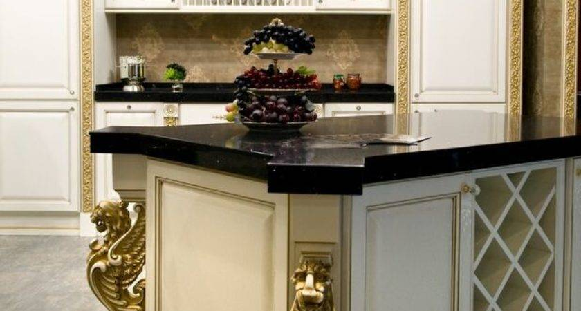 Kitchens Traditional Gold Kitchen Cabinets