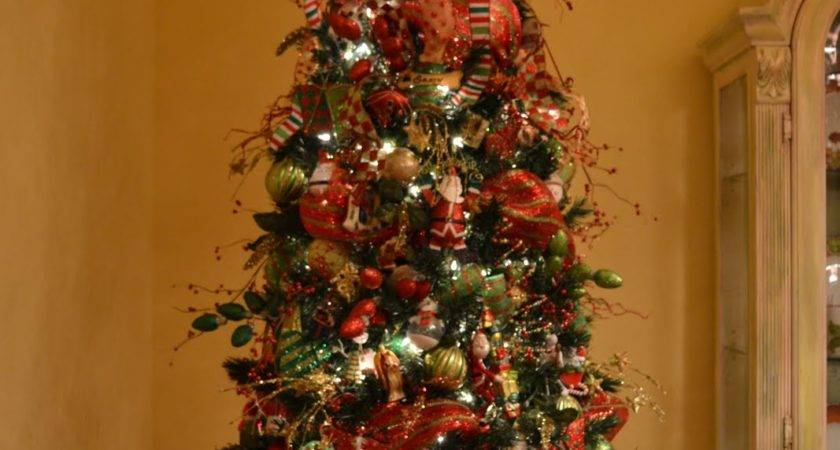 Kristen Creations Decorating Christmas Tree Mesh
