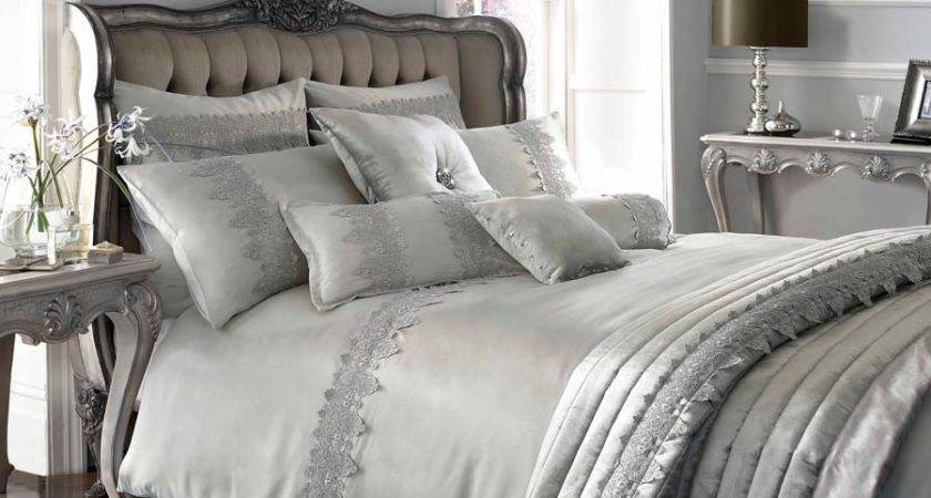 Kylie Minogue Home Luxury Designer Grey Antique Lace