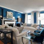 Lacquered Walls Contemporary Living Room Christina