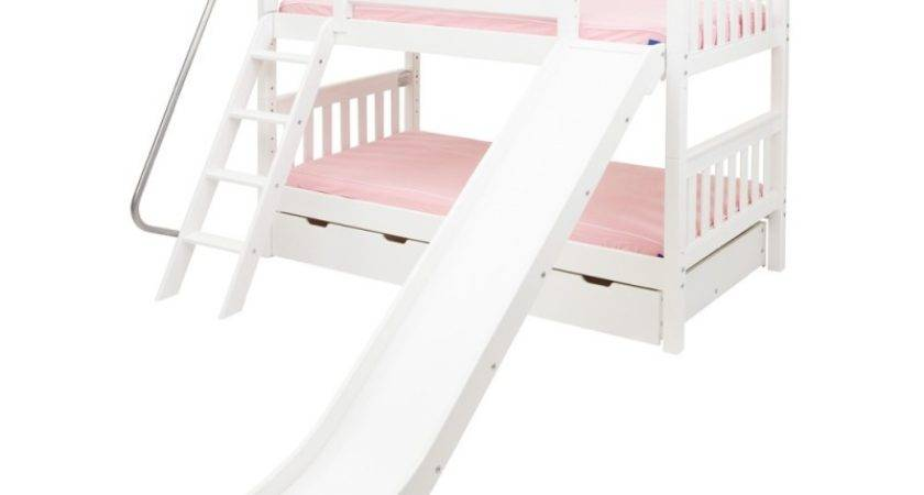 Laugh Twin Over Bunk Bed Ladder Slide