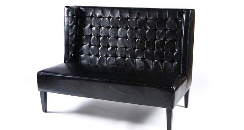 Leather Settee Eventhaus Rentals