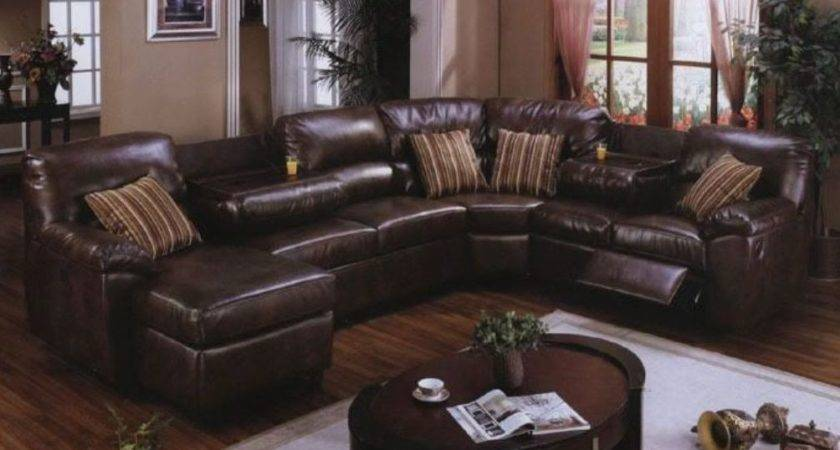 Leather Sofa Small Living Room Modern House