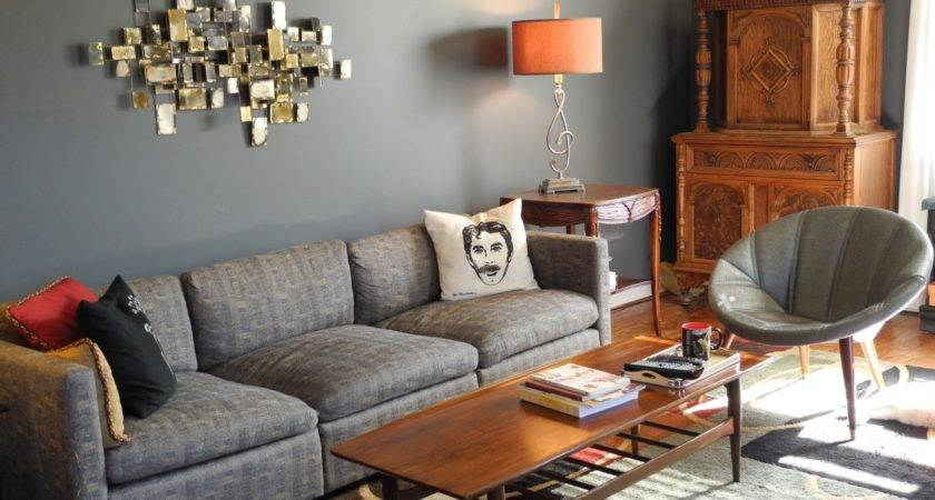 Lemon Grey Living Room Awesome Gray Blue Excerpt