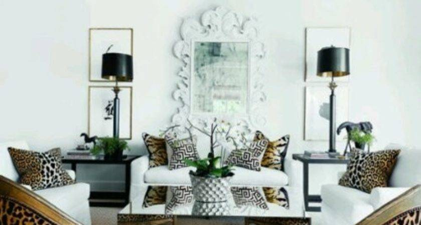Leopard Decor Living Room Animal Print Idea