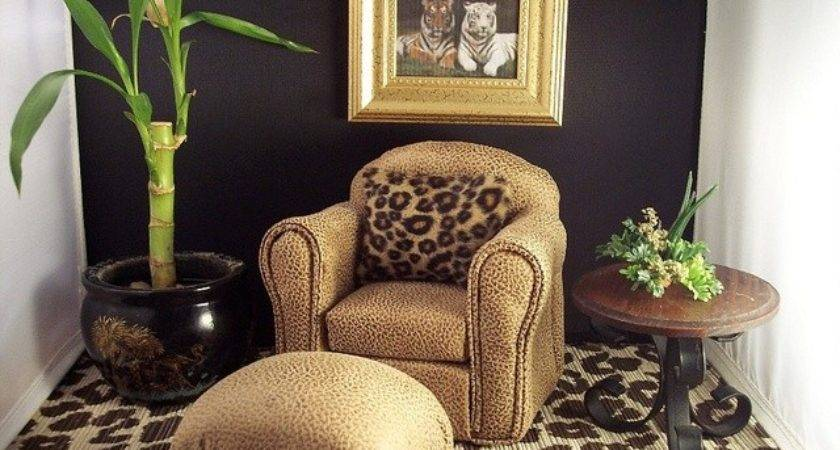Leopard Print Living Room Decor Peenmedia