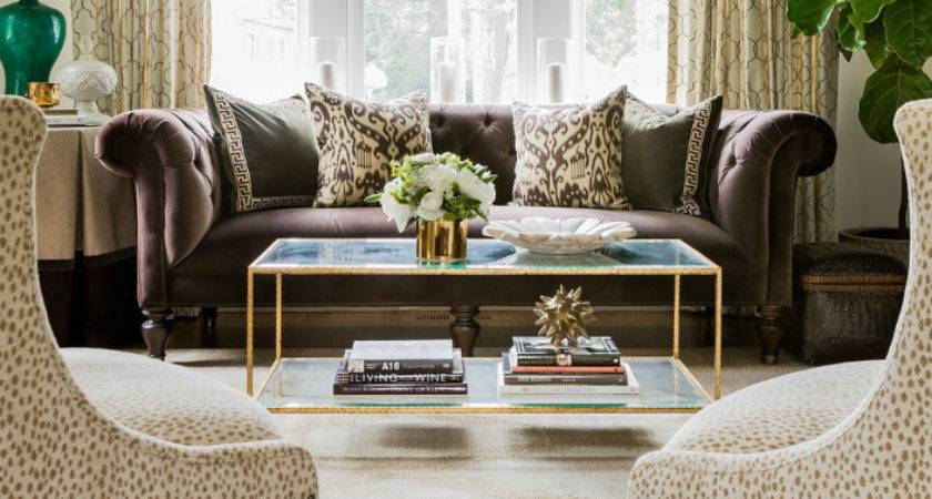 Leopard Print Living Room Decorating Ideas