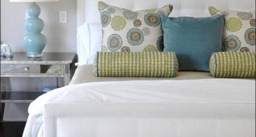 Let Decorate Bringing Calming Blue Green Into