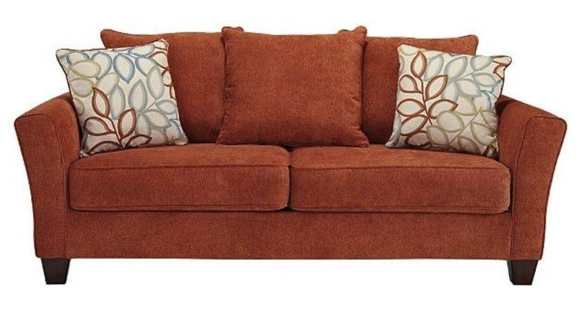 Letgo Rust Colored Queen Sofa Bed Charlestown