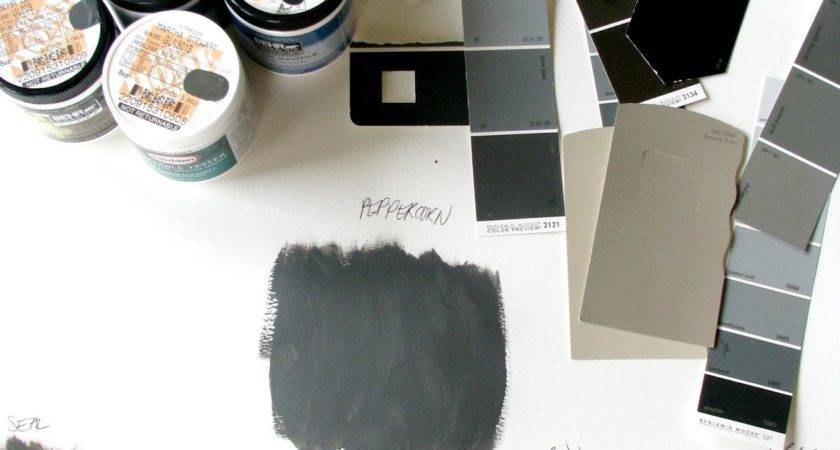Life Love Larson Dark Charcoal Paint Decision