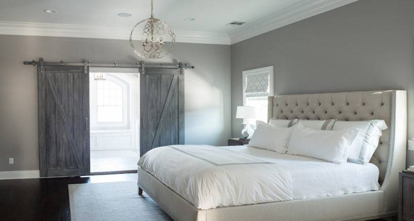 Light Gray Bedroom Paint Design Ideas