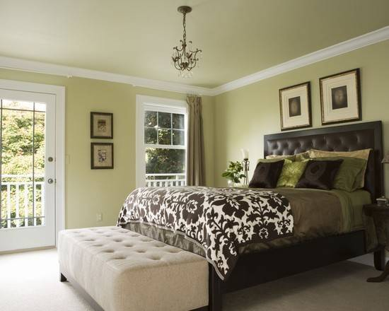 green bedroom throughout beautiful | Light Green Bedroom Color Beautiful Homes Design - Barb Homes