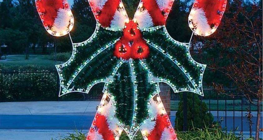 Lighted Candy Christmas Decorations November
