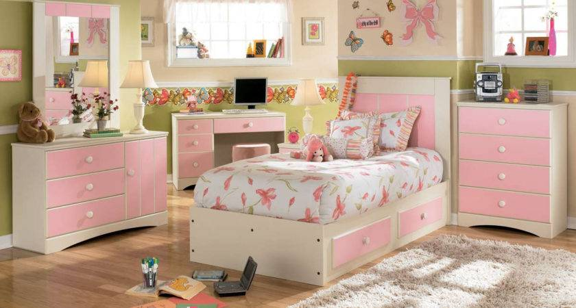 Little Girl Bedroom Furniture Home Combo