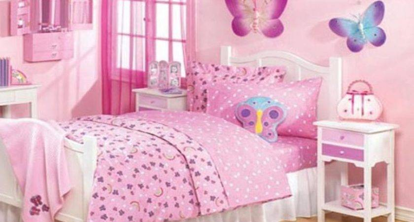 Little Girls Bedroom Ideas Bunk Beds Purple Color