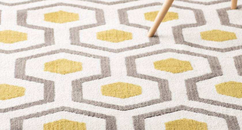 Living Room Area Rugs Inspiration Yellow Grey