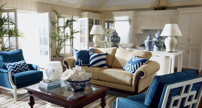 Living Room Best Beige Blue Amazing Home