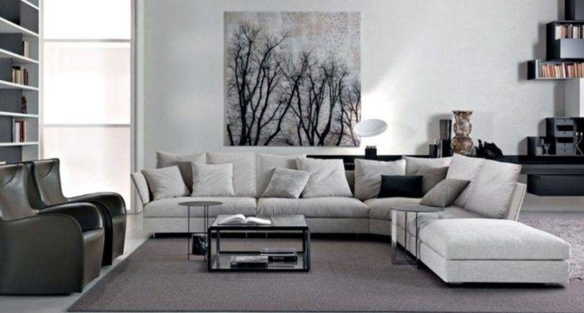 Living Room Black White Grey Ideas