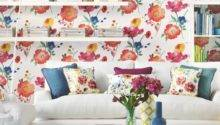 Living Room Bold Floral