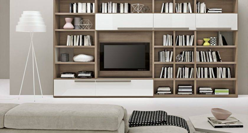 Simple Living Room Bookshelves Ideas Placement Barb Homes