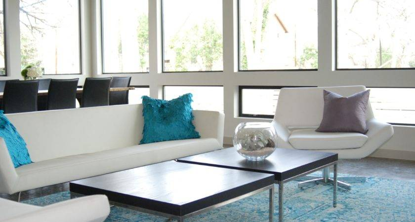 Living Room Captivating Blue White Rooms Red