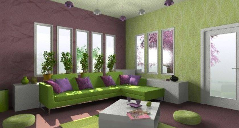 Living Room Color Combinations Modern Green Colors