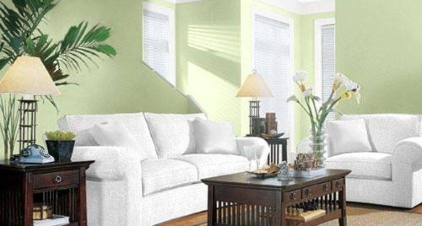 Living Room Colors Green Paint