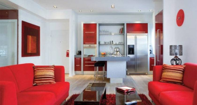 Living Room Colors Red White Designs