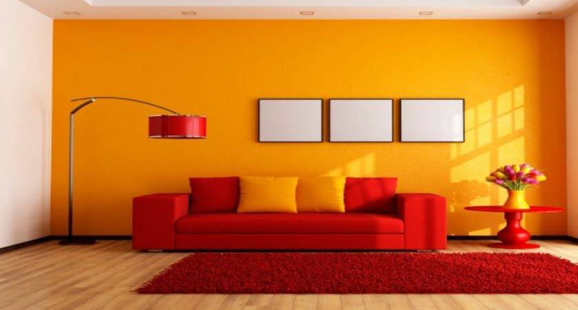 Living Room Colour Combination