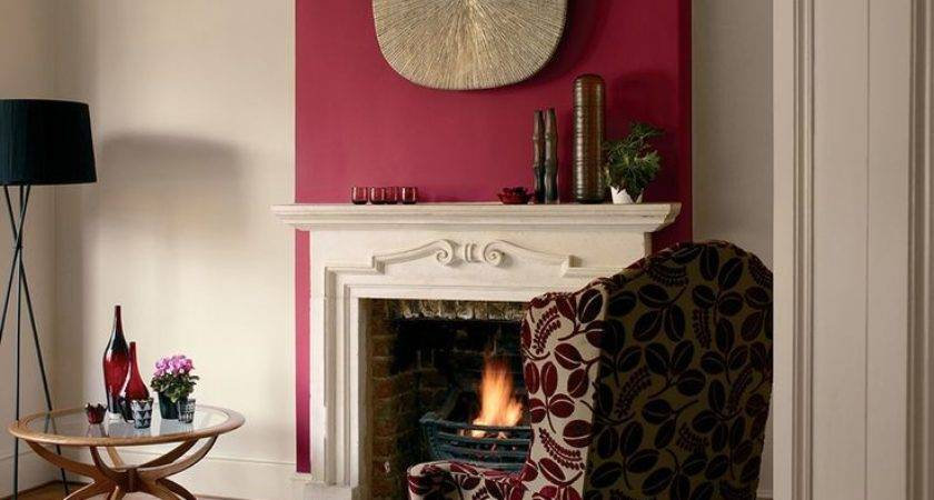 Living Room Feature Wall Colour Ideas Home Vibrant