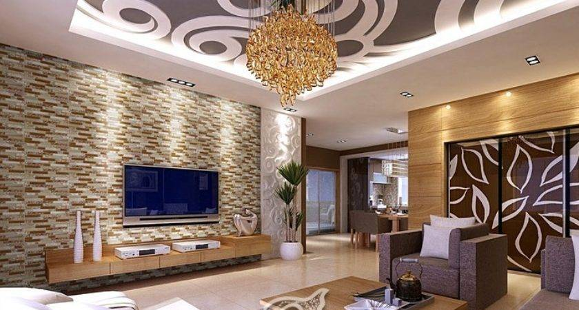 Living Room Feature Wall Tiles All