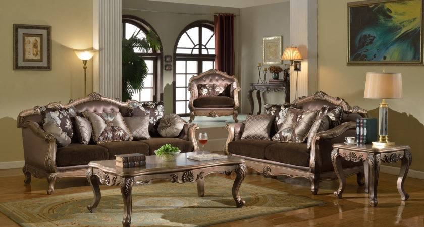 Living Room Furniture Vintage Style Interior Design