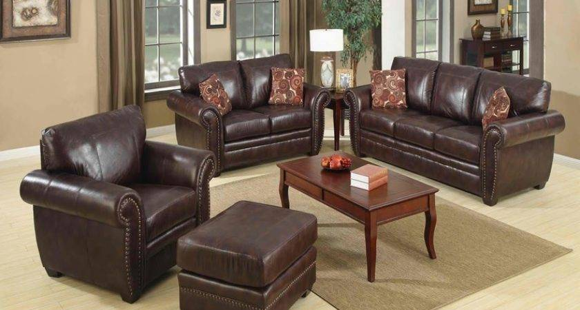 Living Room Ideas Leather Modern