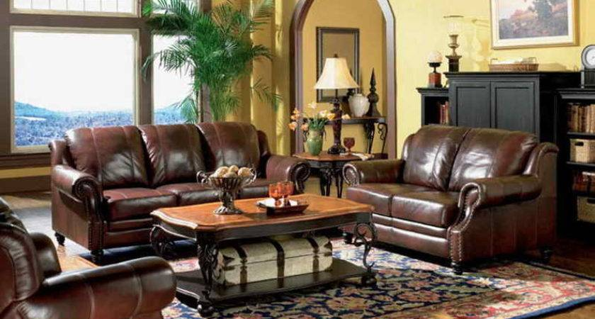 Living Room Rooms Leather Furniture