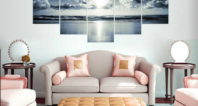 Living Room Wall Decor Added Interior Beauty Home
