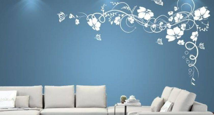 Living Room Wall Designs Paint Onyoustore